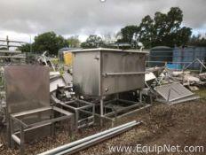 Large Rectangular Stainless Steel COP Tank