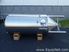 Specific Mechanical Approximately 600 Gallon Stainless Steel Jacketed Brew Tank