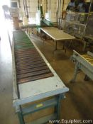 Approx 30 Feet Power Roller and Gravity Roller Conveyor