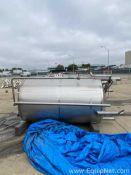 1000 Gallon Paul Mueller Co Sanitary CIP Tank