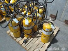 Lot of 15 Combustible Metals D Fire Extinguishers