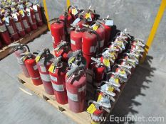 Lot of 32 ABC Mixed Size Fire Extinguishers