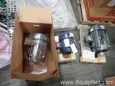 Lot of 3 Unused Electric Motors