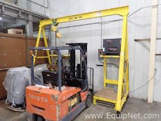 MTC Mobile 2 Ton Beam Hoist