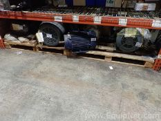 Lot of 4 Unused Electric Motors - 30 to 50 HP
