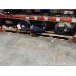 Lot of 4 Unused Electric Motors - 30 to 50 HP