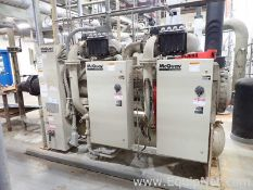McQuay WMC145DSC-ER10 Water-Cooled 145 Ton Centrifugal Chiller