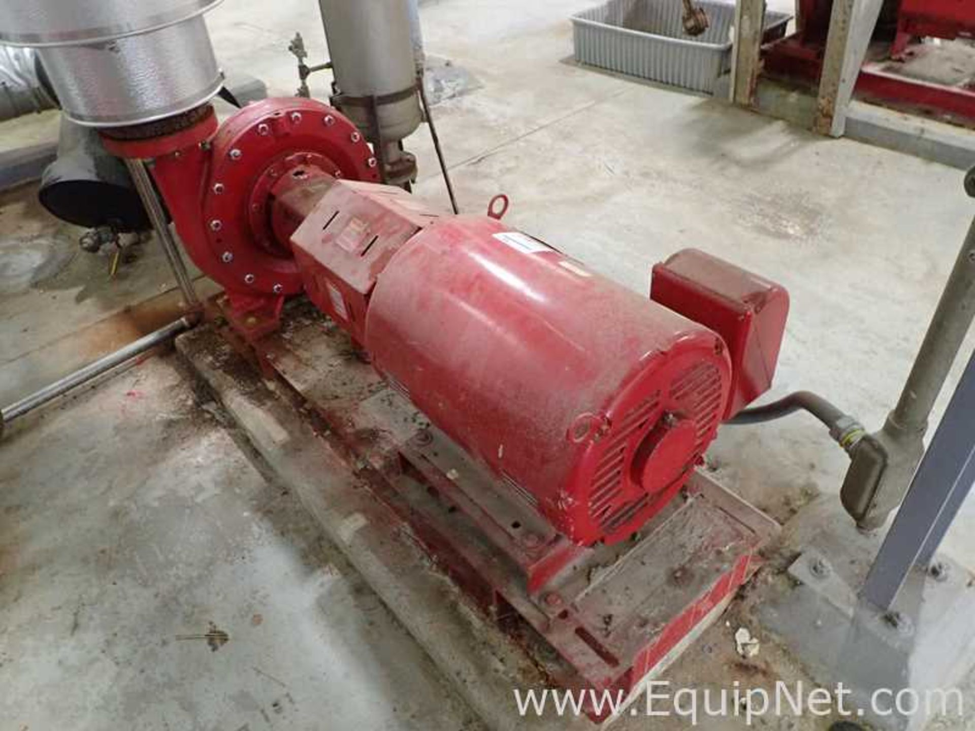 Lot of 2 Bell and Gossett e-1510 25 HP Centrifugal Pumps - Image 3 of 11