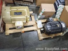 Lot of 1 Baldor 20 HP Motor and 1 50 Hp Motor - Both Unused