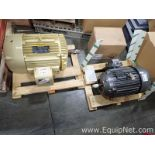 Lot of 1 Baldor 20 HP Motor and 1 50 Hp Motor - Both Unused