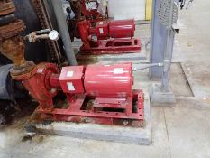 Lot of 2 Bell and Gossett e-1510 15 HP Centrifugal Pumps