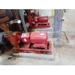 Lot of 2 Bell and Gossett e-1510 15 HP Centrifugal Pumps