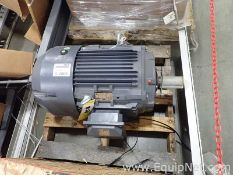 Unused Techtop 25 HP Electric Motor