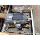 Unused Techtop 25 HP Electric Motor