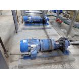 Lot of 1 Gould 7.5 HP Centrifugal Pump and 1 Griswold 7.5 HP Centrifugal Pump
