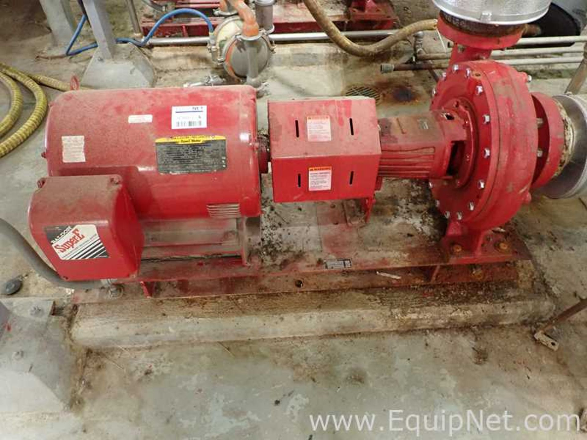 Lot of 2 Bell and Gossett e-1510 25 HP Centrifugal Pumps - Image 2 of 11