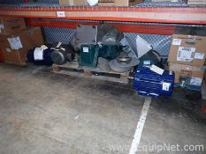 Lot of 10 Unused Electric Motors - 0.5 to 10.0 HP