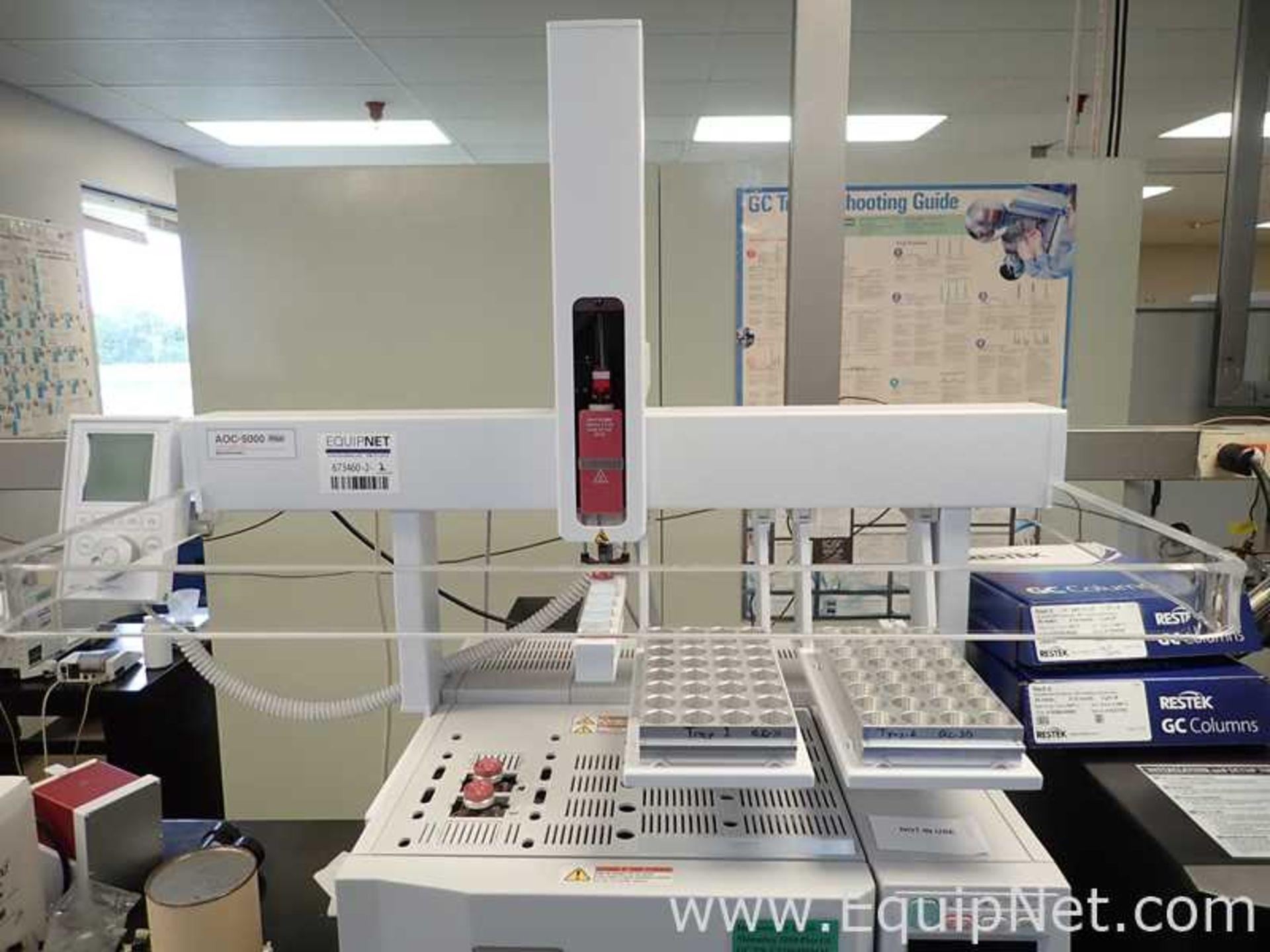 Shimadzu GC-2010 Gas Chromatograph with AOC-5000 Auto Injector - Image 3 of 7