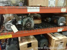 Lot of 10 Unused Electric Motors - 0.5 to 5.0 HP