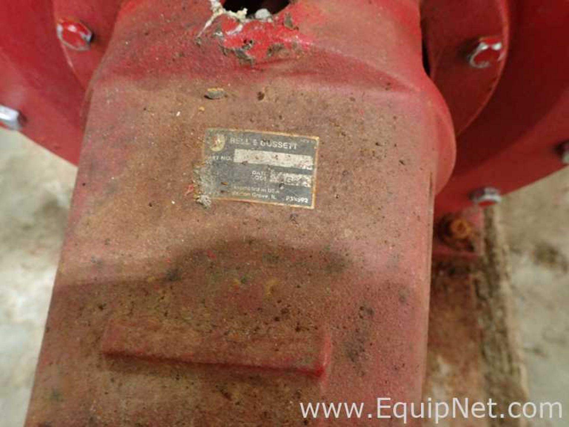 Lot of 2 Bell and Gossett e-1510 25 HP Centrifugal Pumps - Image 5 of 11