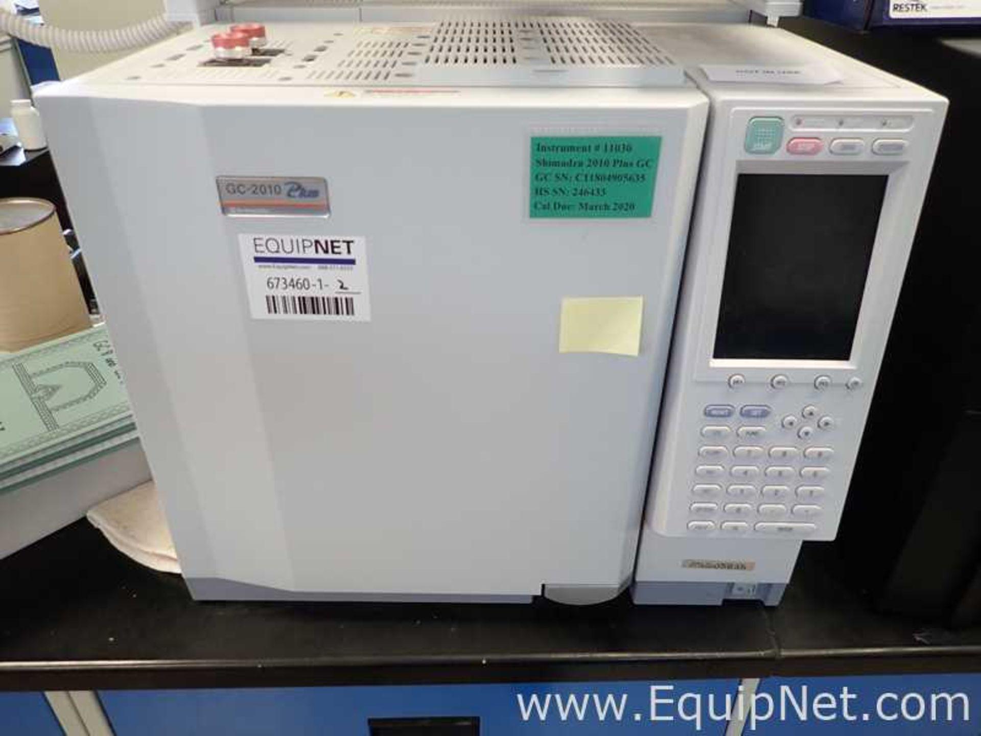 Shimadzu GC-2010 Gas Chromatograph with AOC-5000 Auto Injector - Image 2 of 7