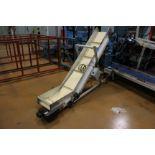 "(Lot of 2) HFA 14.5"" x 8' Incline Cleated Belt Conveyor"