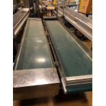 "(Lot of 2) 19.5"" x 10' Belt Conveyor"