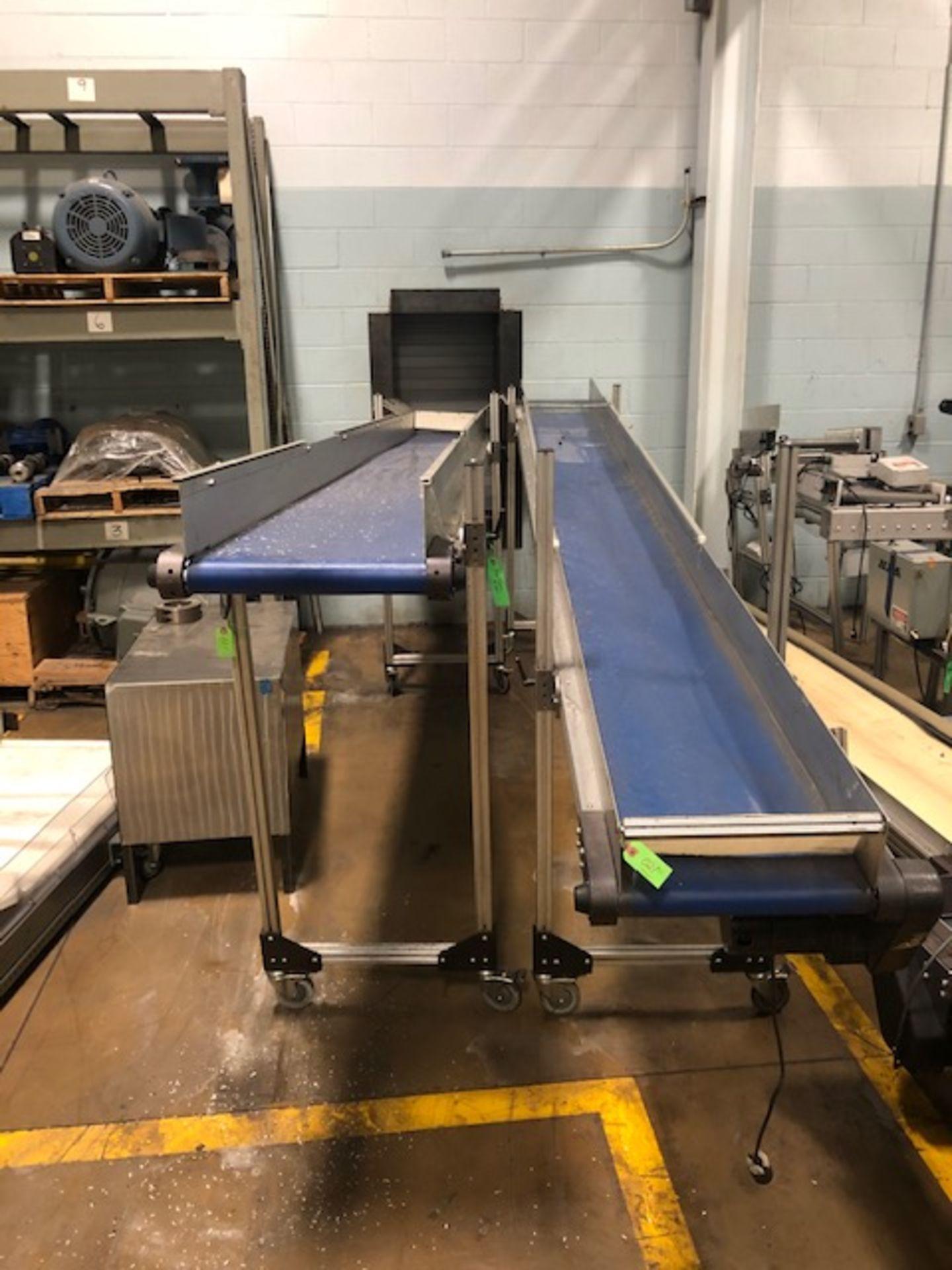 "Lot 21 - (Lot of 2) HFA 16"" x 14' Belt Conveyor"