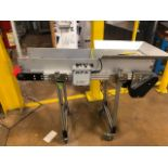 "HFA 12"" x 4' Cleated Belt Conveyor"