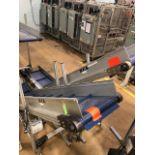 "(Lot of 2) HFA 14.5"" x 9' Incline Cleated Belt Conveyor"