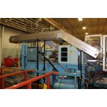 "LaRos 17"" x 12' Cleated Belt Conveyor"