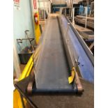 "HFA 14"" x 15' Cleated Belt Conveyor"