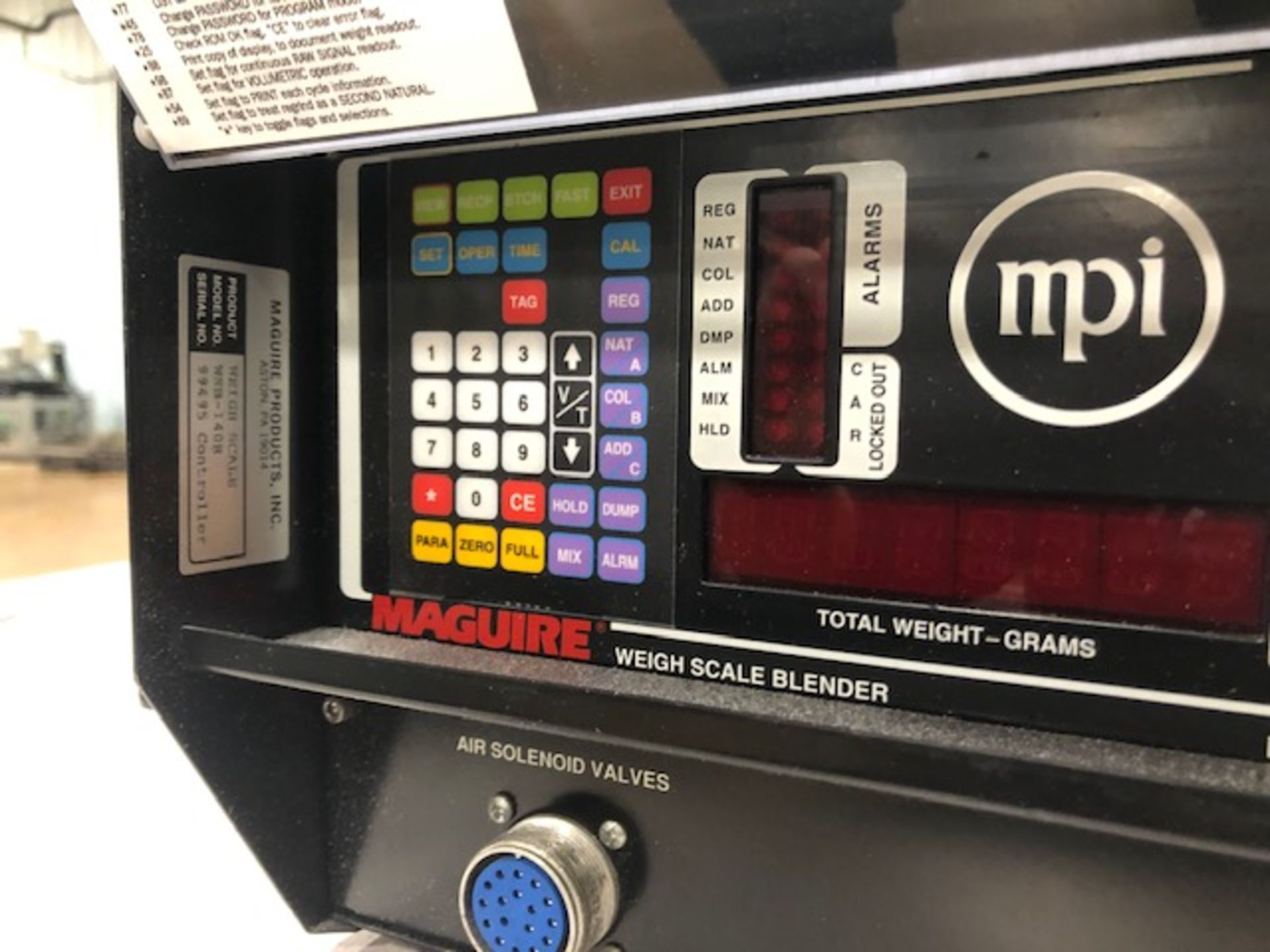 Lot 1 - Maguire WSB-140R Weigh Feeder Controller