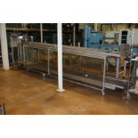 "MAC 22"" x 19' Belt and Powered Roller Conveyor"