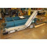 "HFA 11"" x 9' Incline Cleated Conveyor"