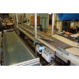 "HFA 16"" x 13' Belt Conveyor Plasti-Quip"
