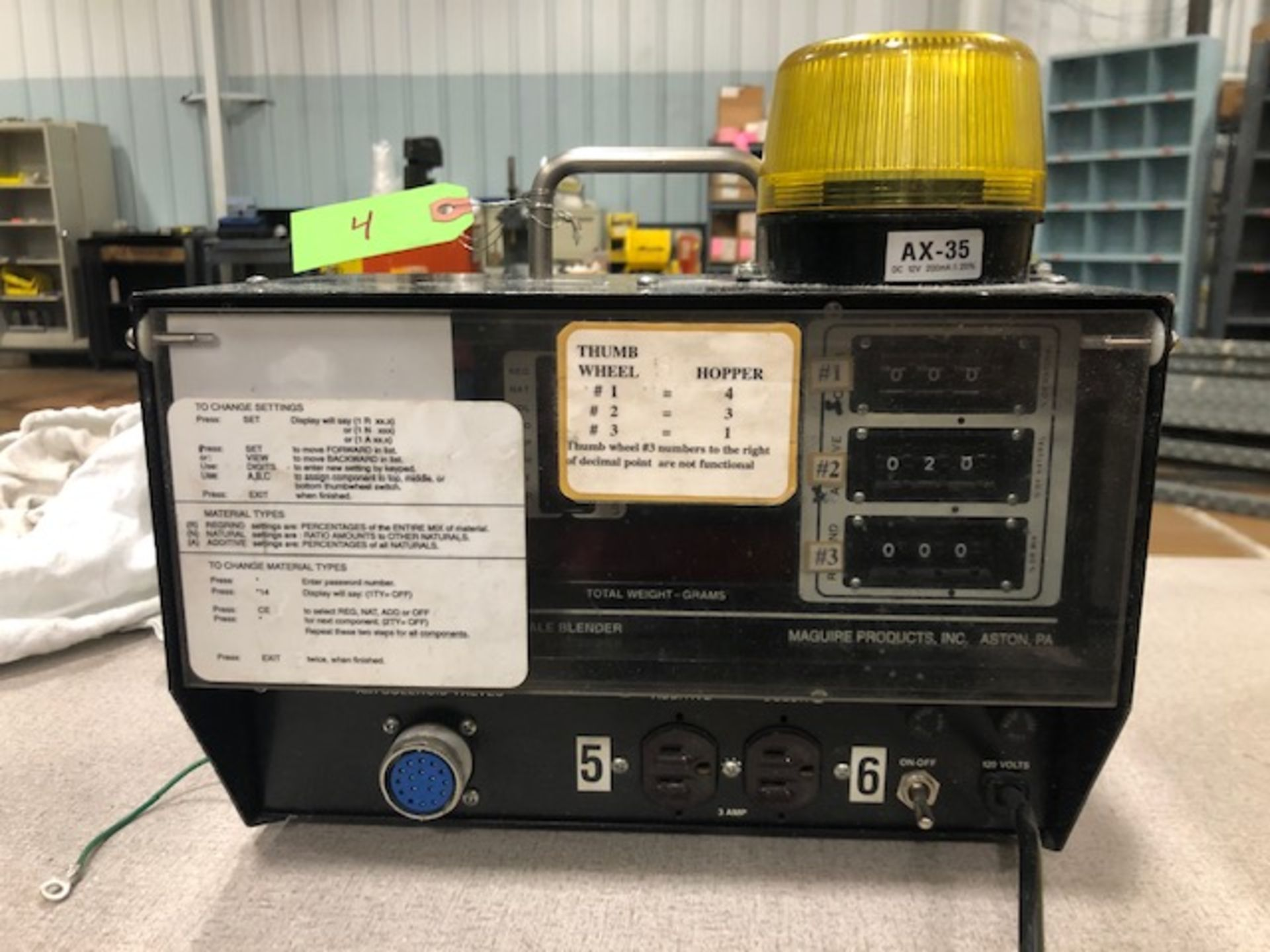 Lot 4 - Maguire WSB-240R-T Weigh Feeder Controller