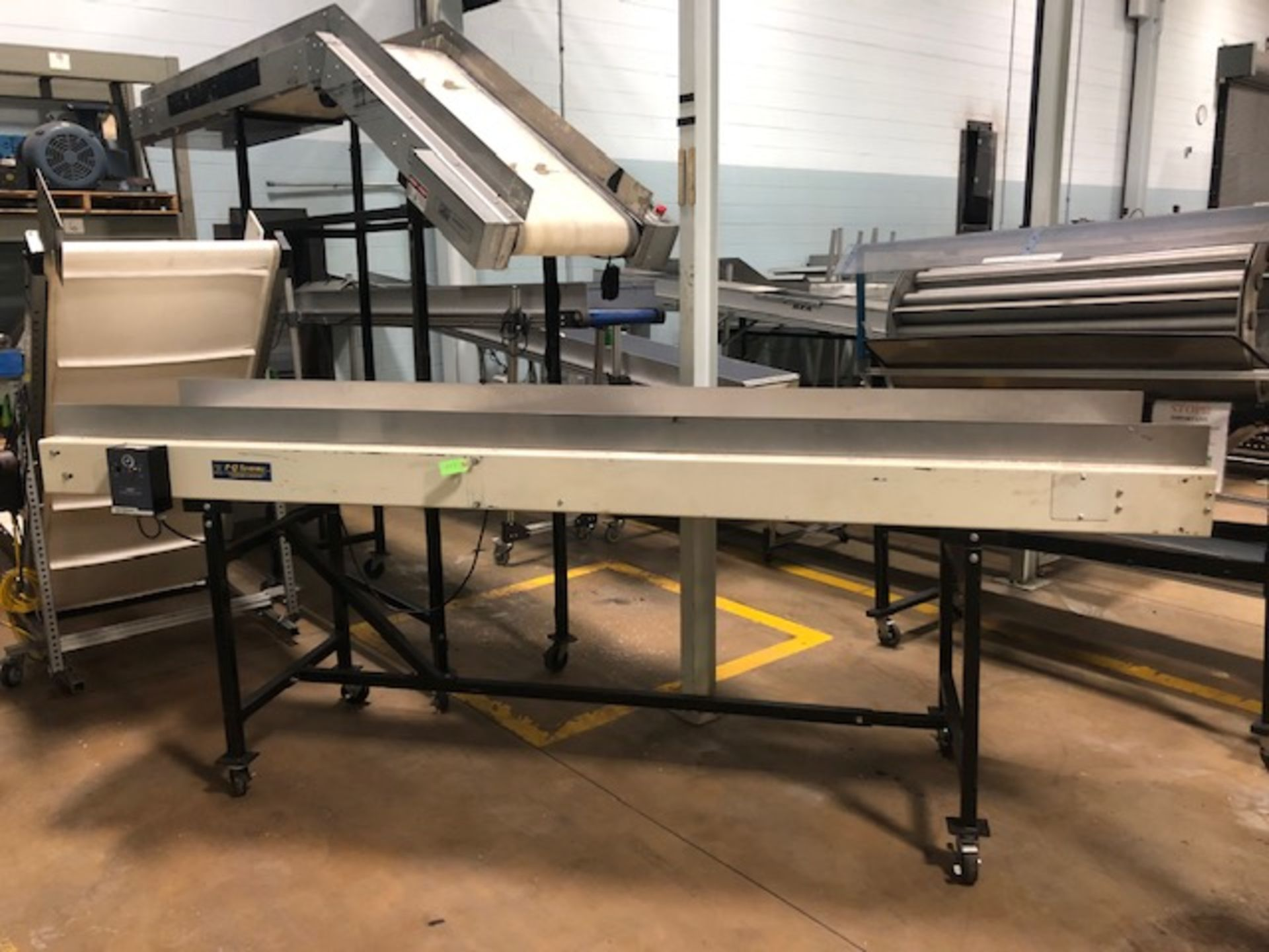"Lot 17 - PQ Systems 22.5"" x 10' Belt Conveyor"