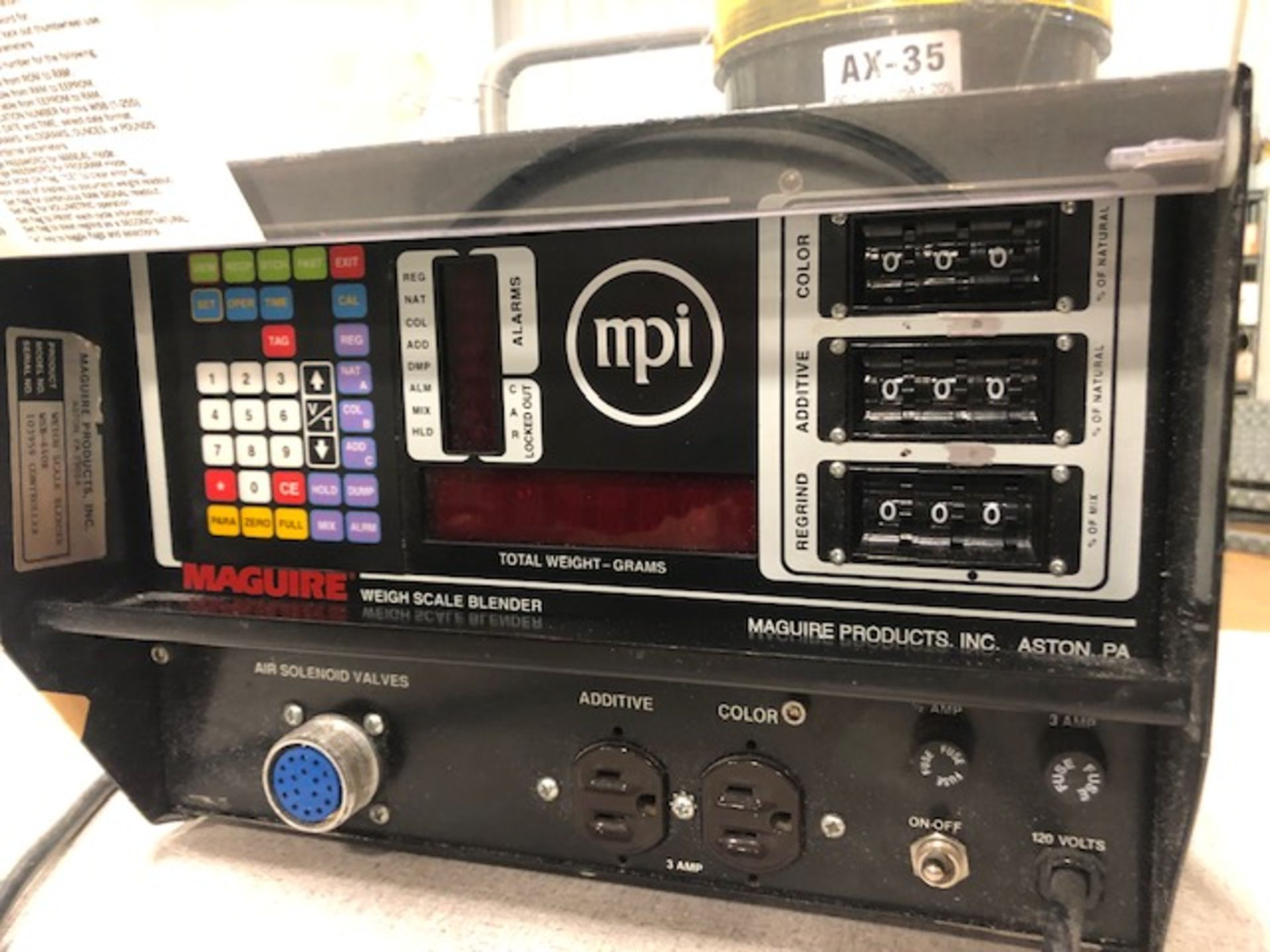 Lot 2 - Maguire WSB-440R Weigh Feeder Controller