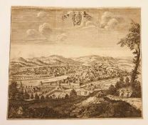 Florentina, 1732, Ad Relal.Francof. Vern. , Kupferstich ,Größe: ca. 36,5 x 31,5 cm<b