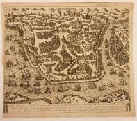 Constantinopel , 1731, Kupferstich , Größe: ca. 37x33,5 cm<b