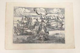 La Presa Della Galea DI Rais Cosaro, A.H.F. ,18.Jahrhundert , Größe: ca. 33,5x23,5cm