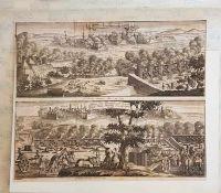Ipern 1744 und Filla Franca 1744, Ipern in den Niederlanden 1744 von den Franzosen mit Accort