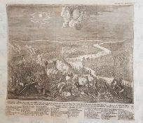 Acurateste Wahrhaftre Vorstellung der glücklichen Schlacht und Victori der kayserl. in Italien bei