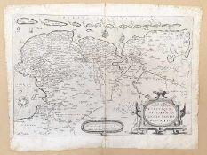 Abraham Ortelius (1527-1598) Ost und Westfriesland , 1568 , Größe: 54x42cm,