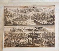 Ipern 1744 und Filla Franca 1744, Ipern in den Niederlanden 1744 von den Franzosen mit Accort e