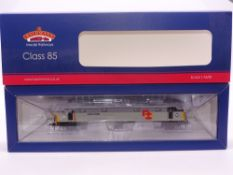 OO Gauge: A BACHMANN 31-676K Class 85 Electric Locomotive 'Doncaster Plant 150' - RfD Triple Grey