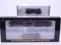 N Gauge: American Outline: A SPECTRUM Norfolk and Western Class J steam locomotive set with