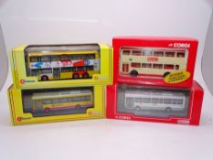 A group of CORGI OOC buses - All Hong Kong examples - VG / E in VG boxes (4)