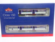 OO Gauge: A BACHMANN 32-935Y Class 150/2 DMU - ScotRail (Whoosh) Livery - limited edition for